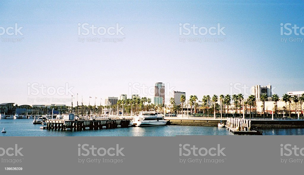 Long Beach - Los Angeles stock photo