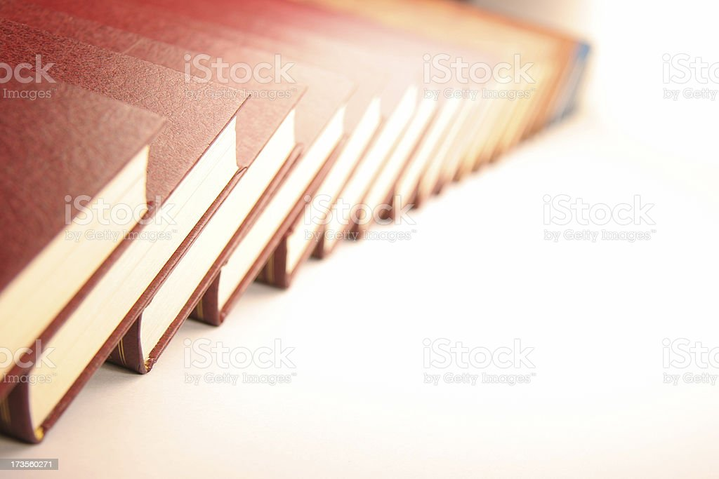 long book serie royalty-free stock photo