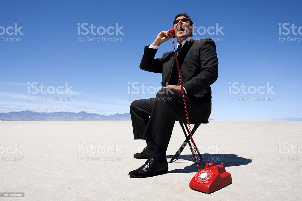 Long Distance Call royalty-free stock photo
