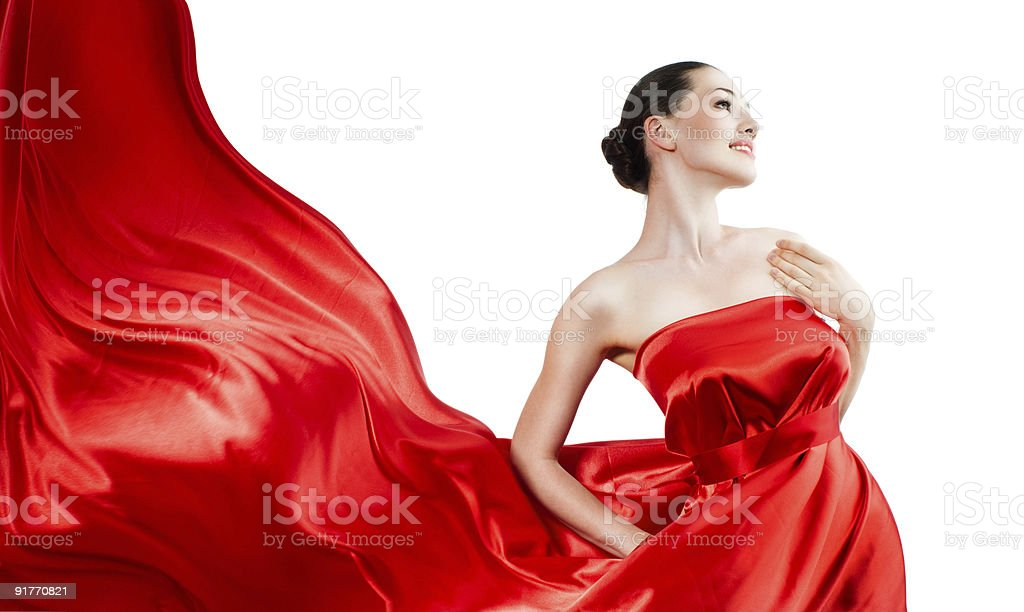 long dress stock photo