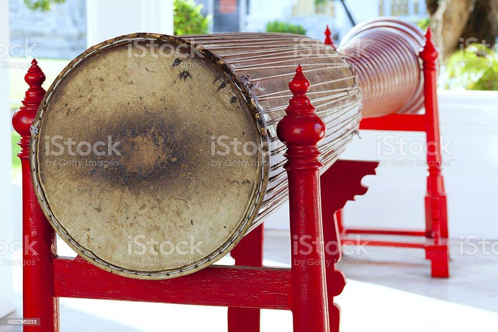 Long drum stock photo