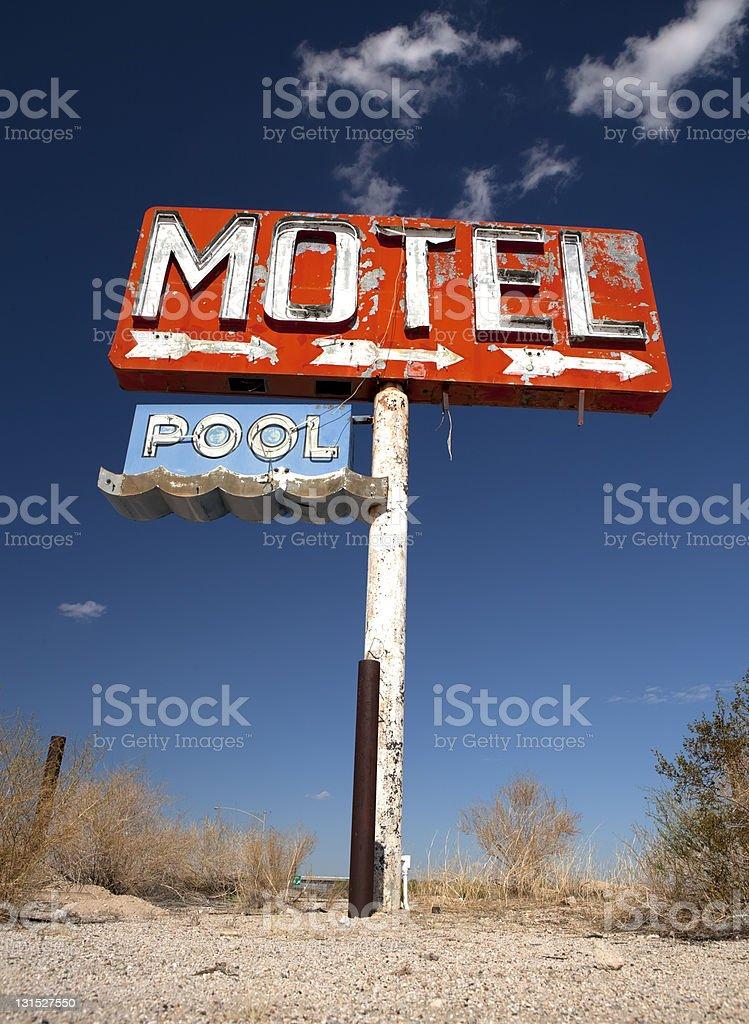 Long Forgotton Motel royalty-free stock photo