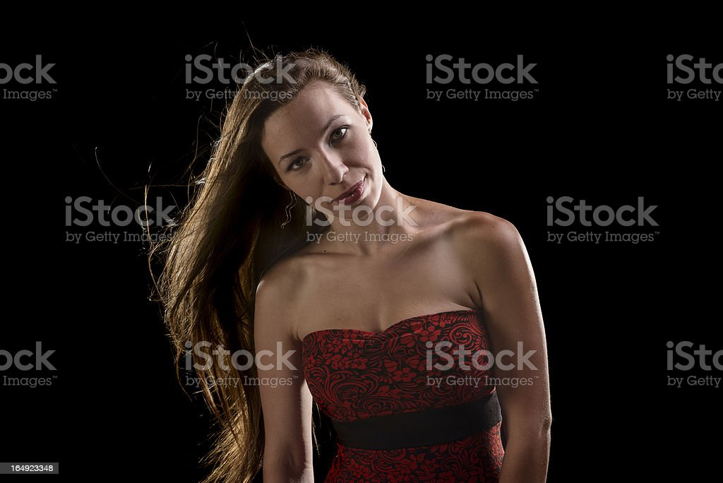Long Hair stock photo
