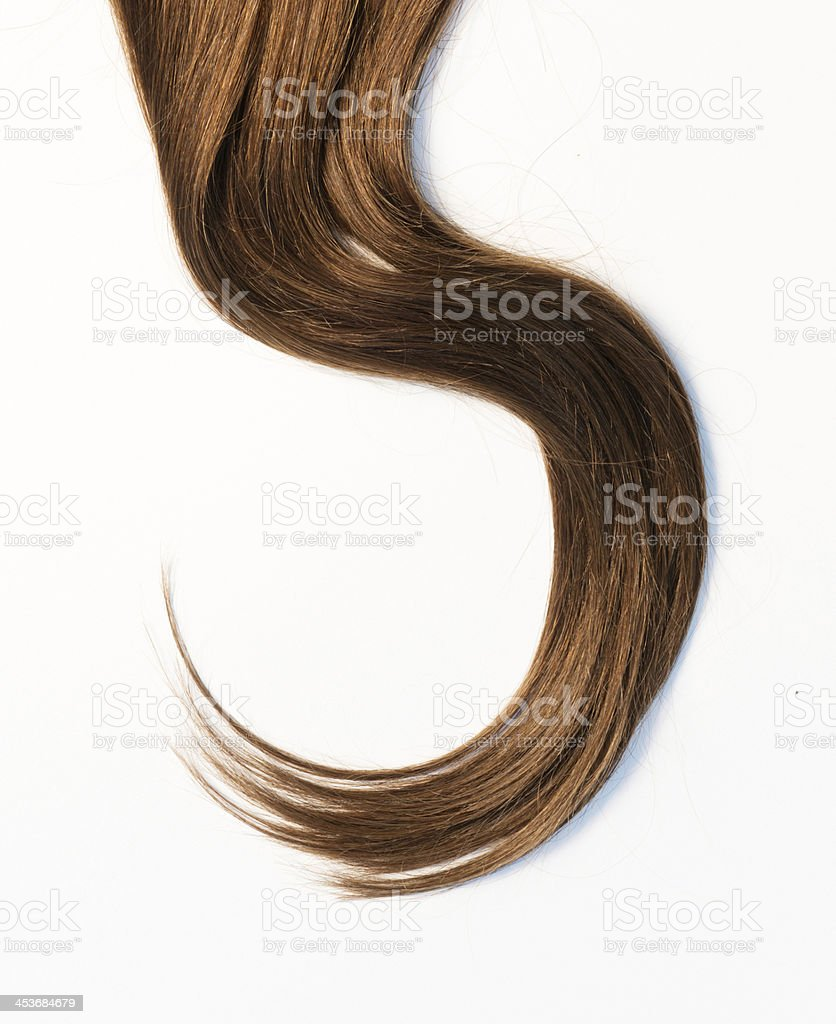 Long Hair stock photo