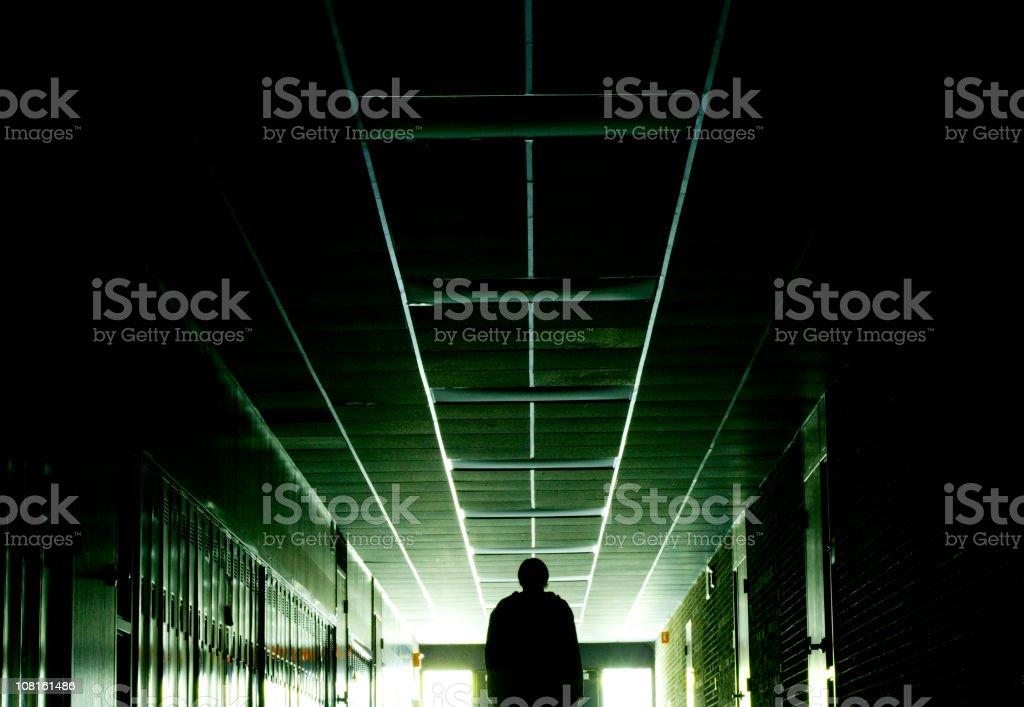 Long Hallway royalty-free stock photo