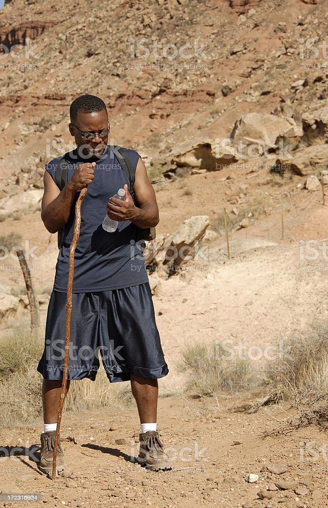 Long Hike - Little Water stock photo
