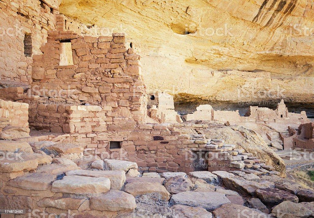 Long House Ruins - Mesa Verde National Park, Colorado royalty-free stock photo