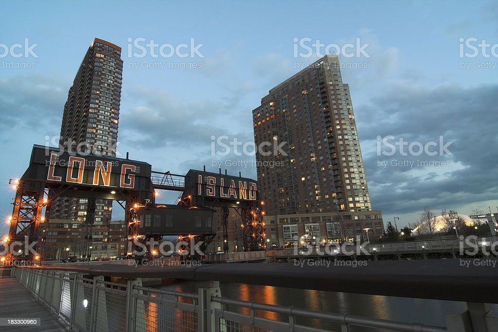 Long Island City royalty-free stock photo