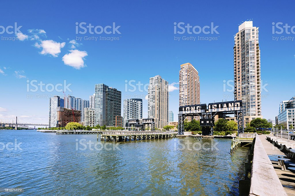Long Island City Queens New York stock photo