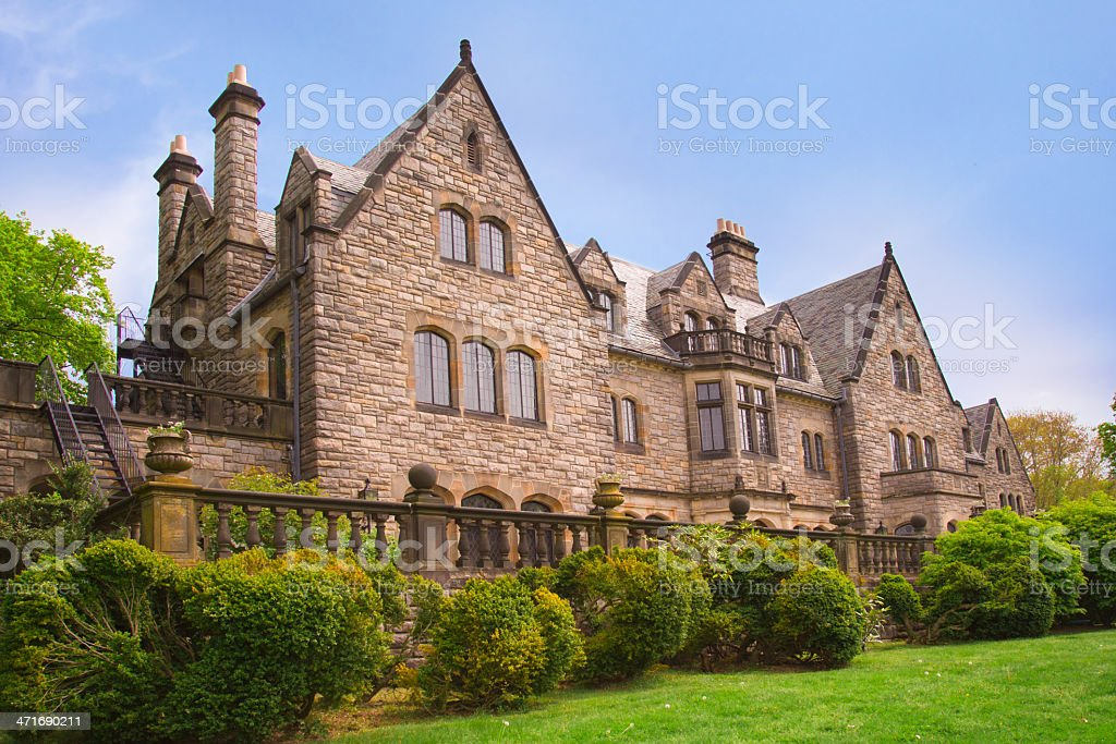 Long Island Gold Coast House stock photo