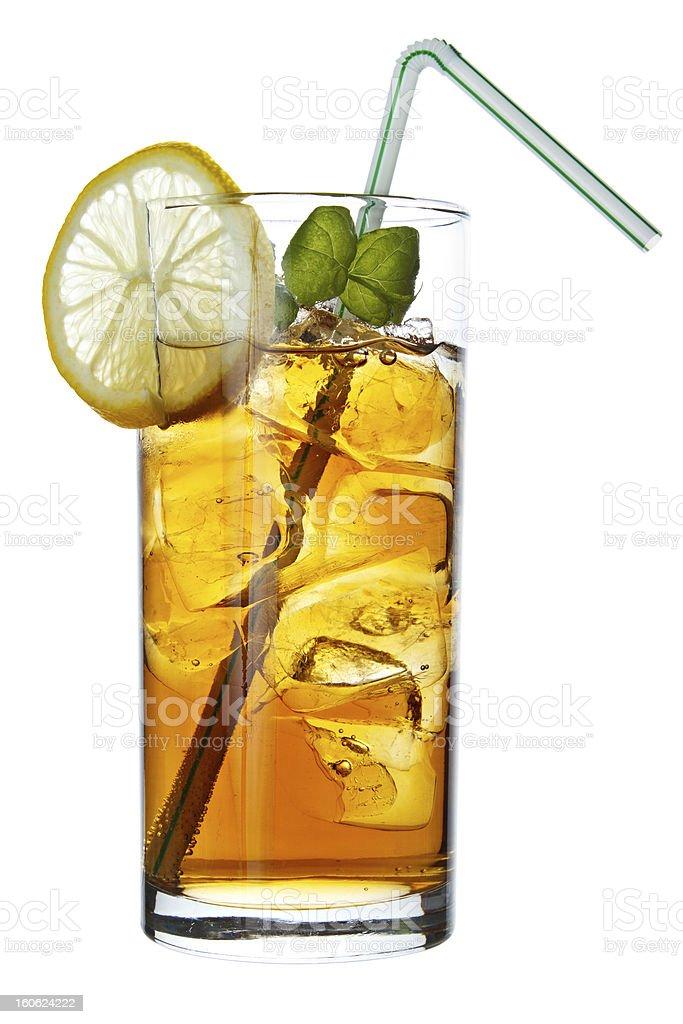 Long Island Iced Tea drink royalty-free stock photo