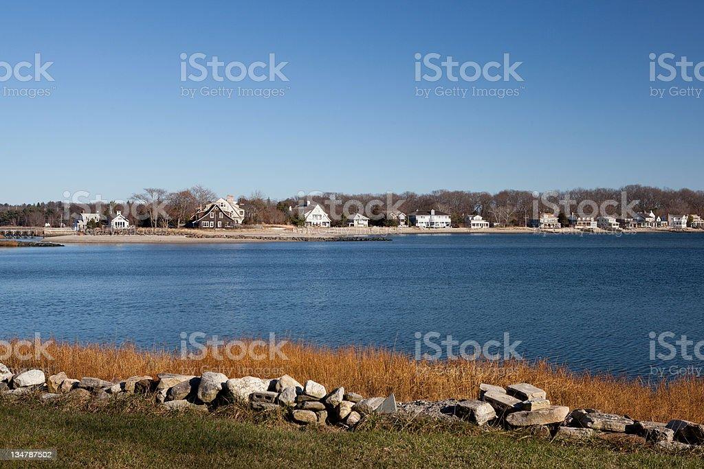 long island sound Connecticut stock photo