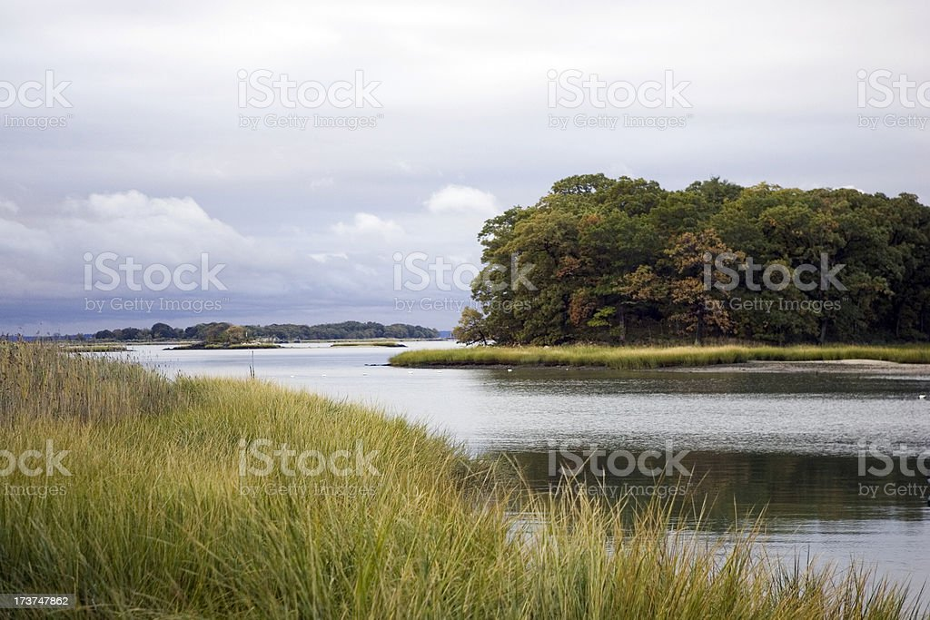 Long Island Sound royalty-free stock photo