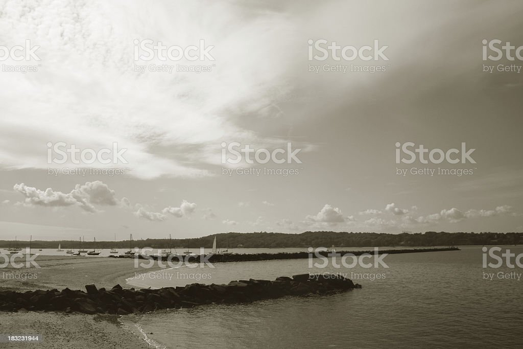 long island sound royalty-free stock photo