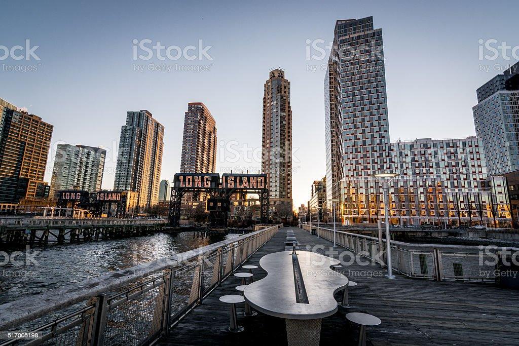 Long Island Terminal stock photo
