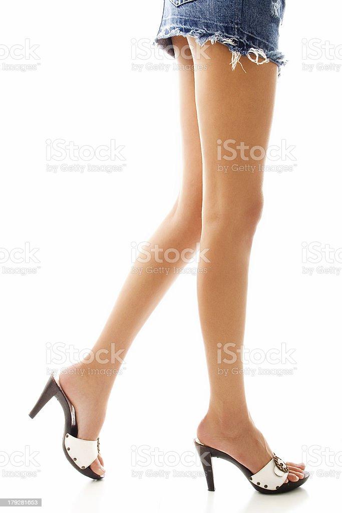 long legs royalty-free stock photo