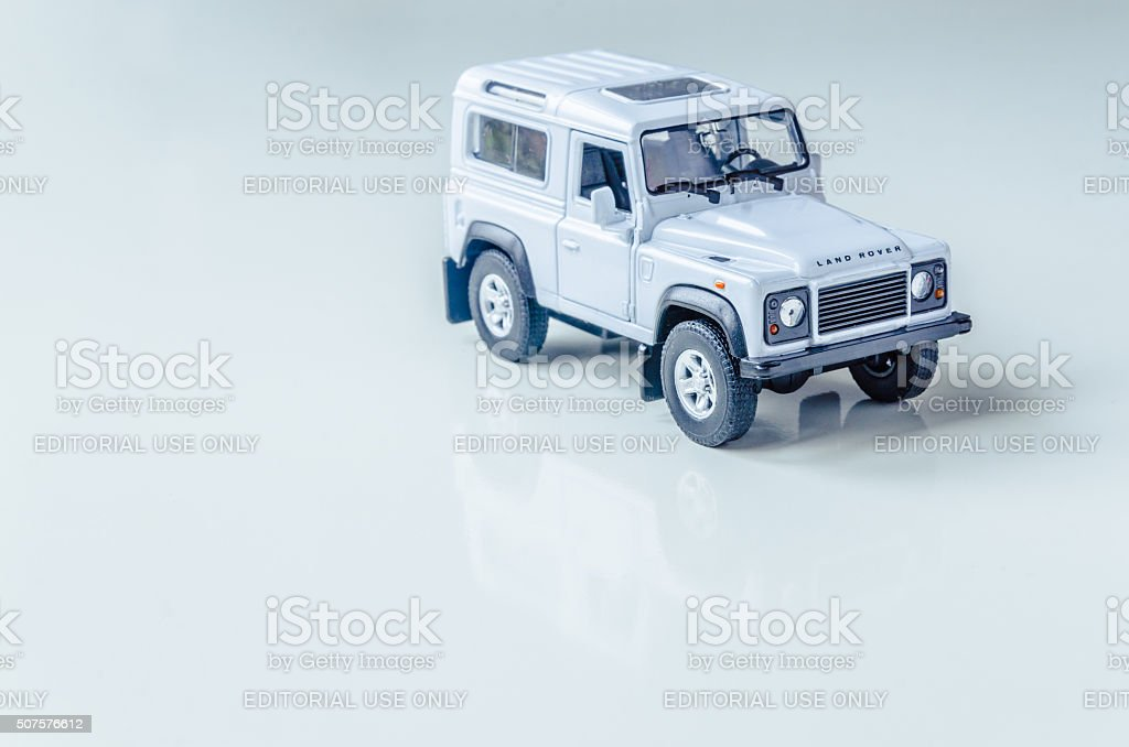 Long Life Land Rover Defender stock photo