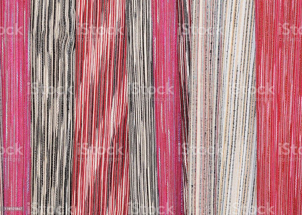 Long Neck Karen Textile royalty-free stock photo