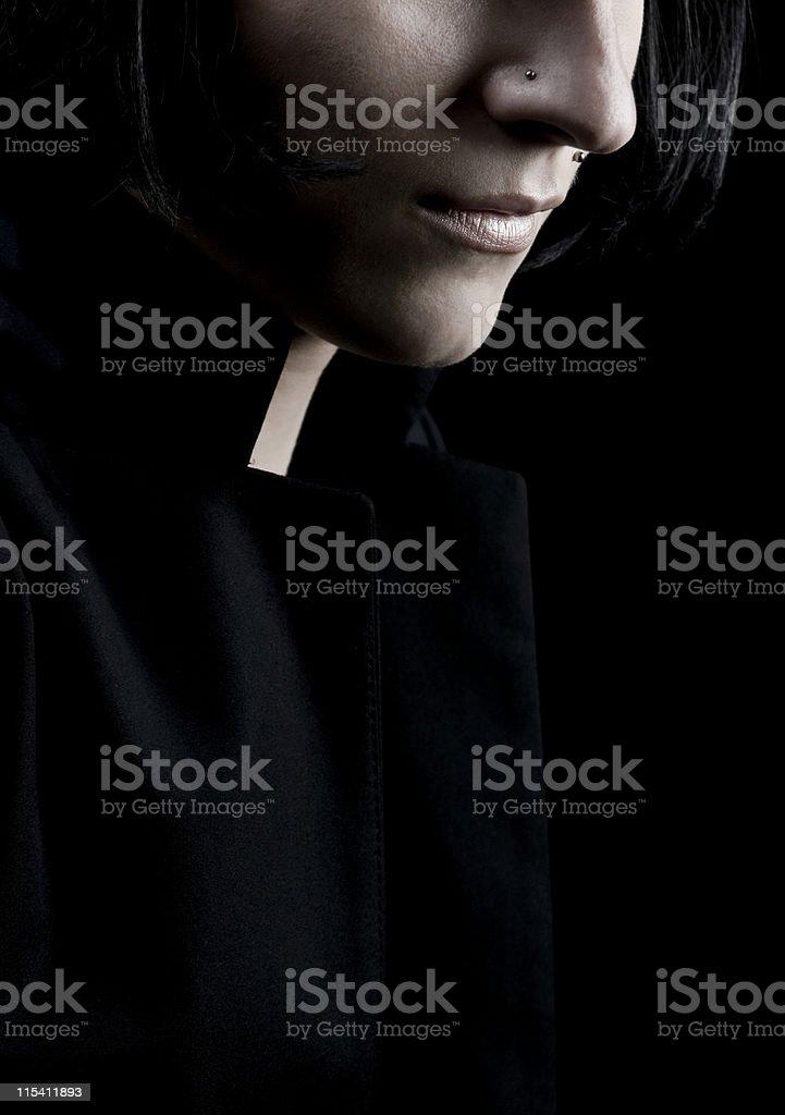 long neck stock photo