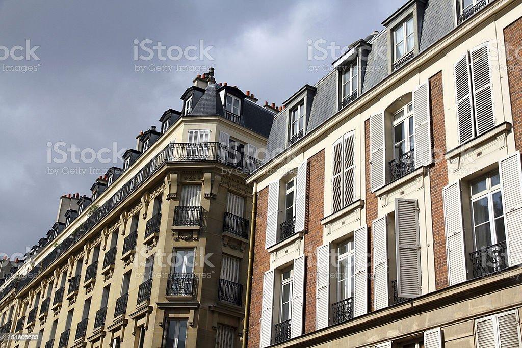 Long Paris Block royalty-free stock photo