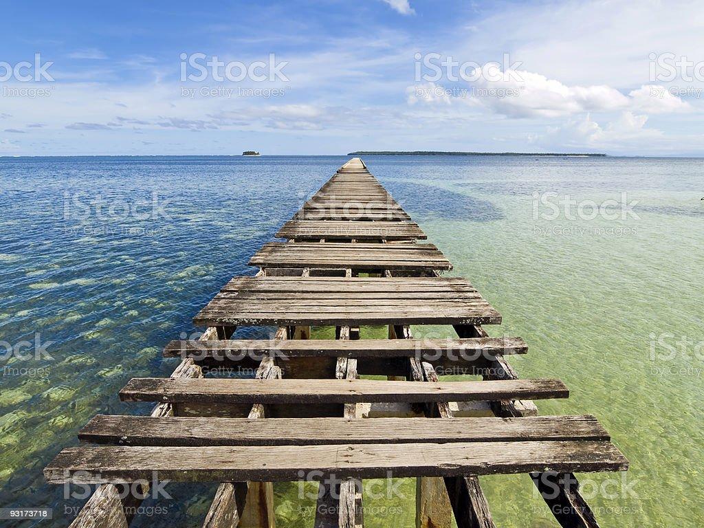 Long Pier royalty-free stock photo