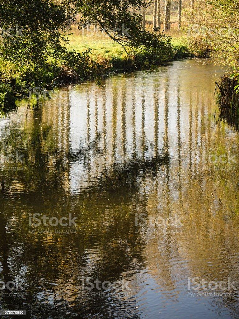 Long Reflections stock photo