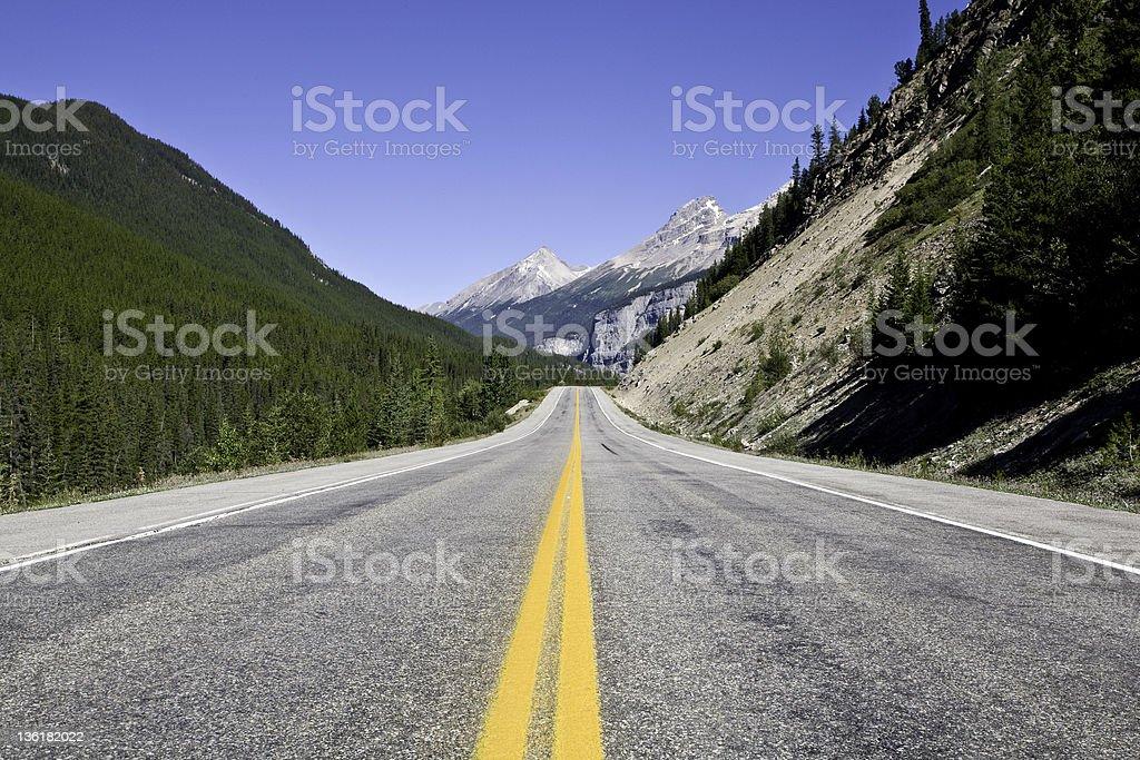 Long Road royalty-free stock photo