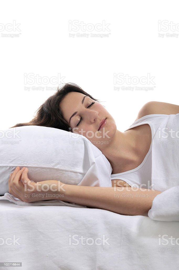 Long sleeper stock photo