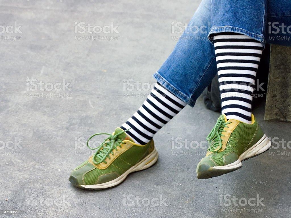 Long Stockings stock photo