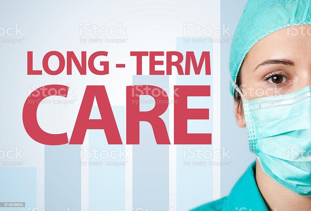 Long term care / Healthcare concept (Click for more) stock photo