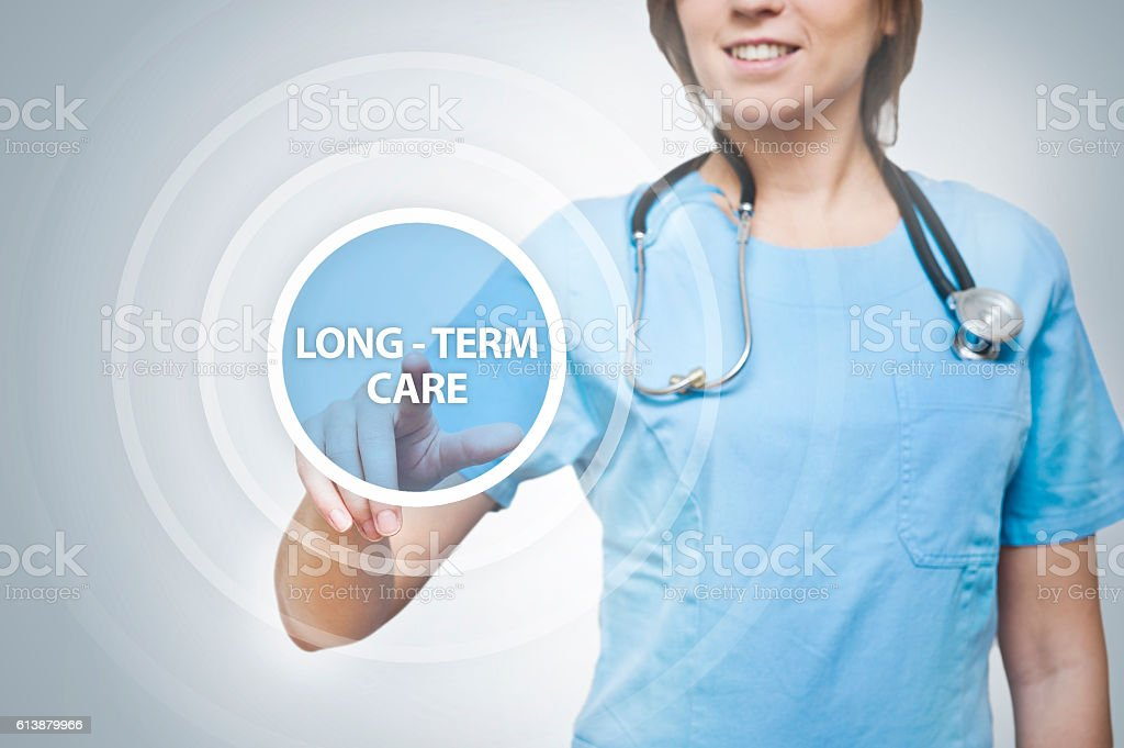 Long Term Care / Medicince cocnept (Click for more) stock photo