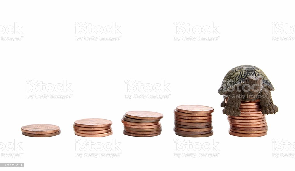 Long Term Investing royalty-free stock photo