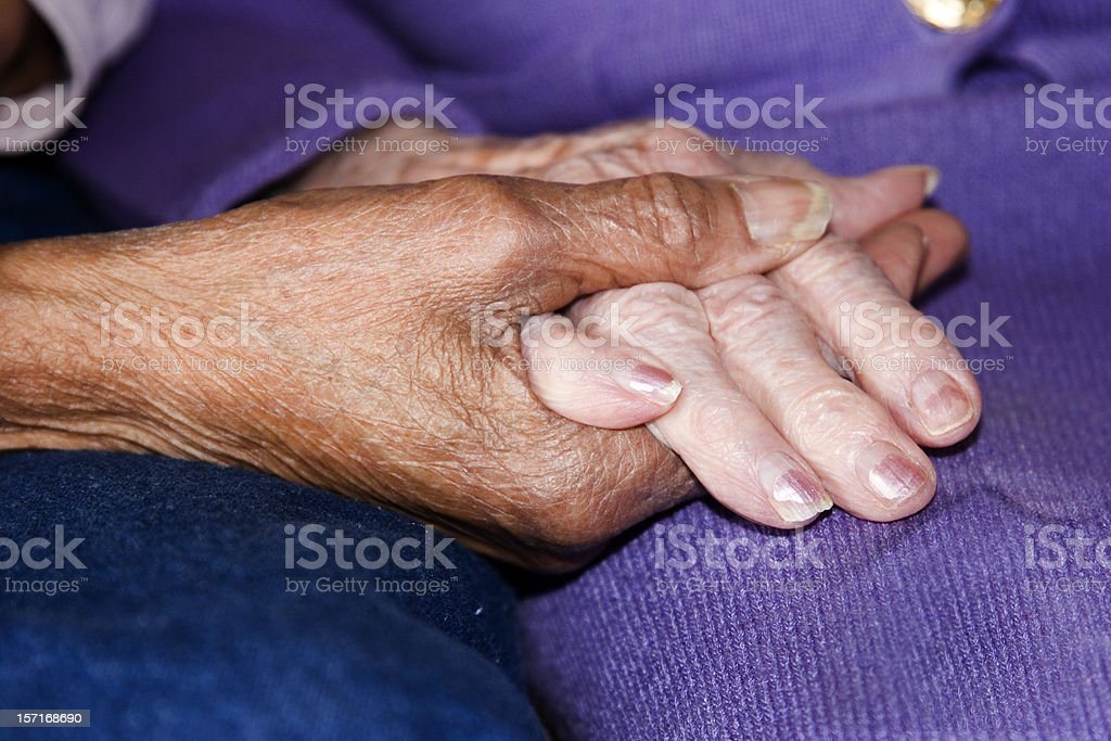 Long Time Friends royalty-free stock photo