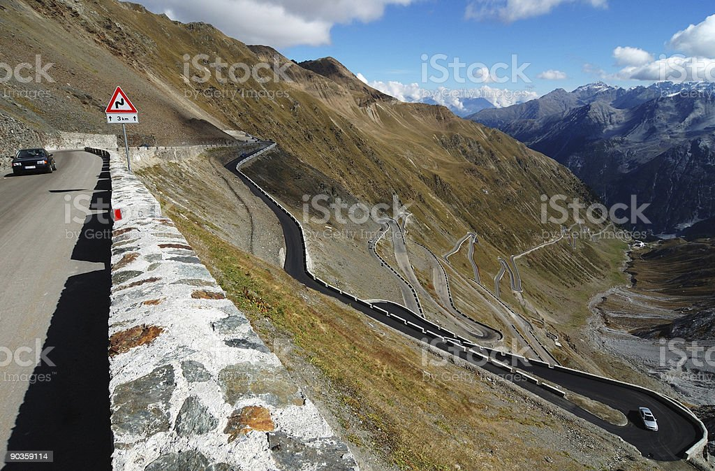 Long way to the top royalty-free stock photo