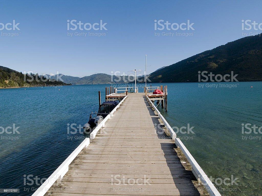 Long Wharf stock photo