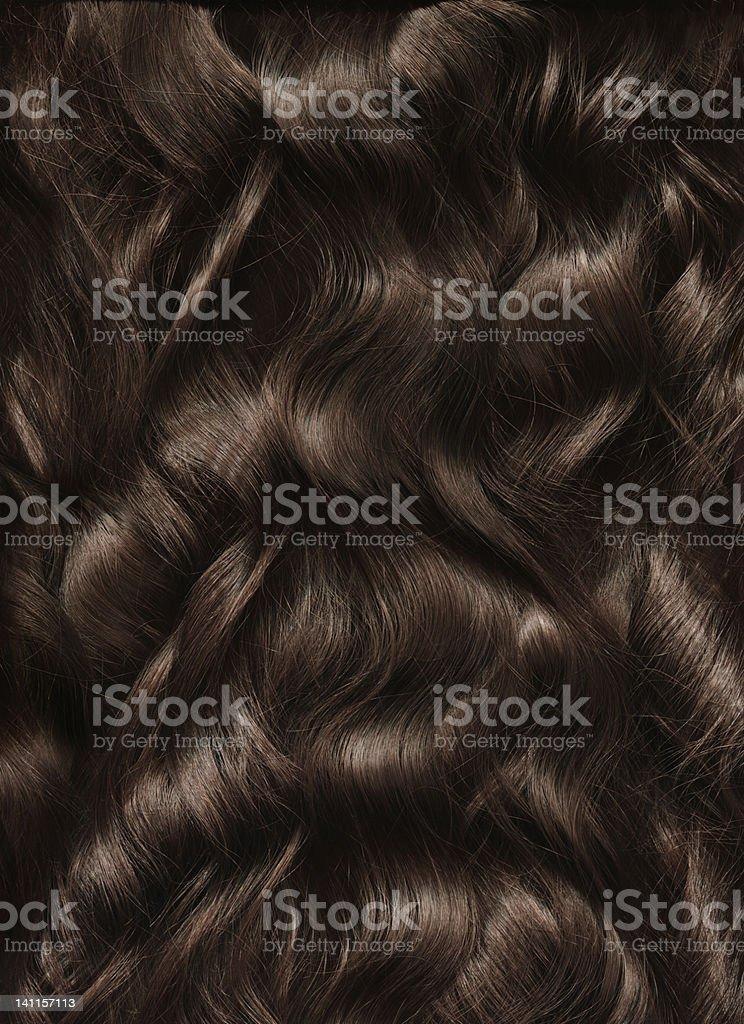 Long Woman Hair royalty-free stock photo