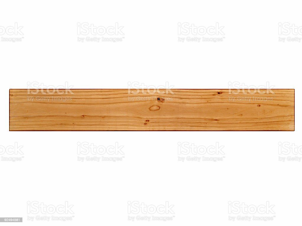 Long Wood royalty-free stock photo