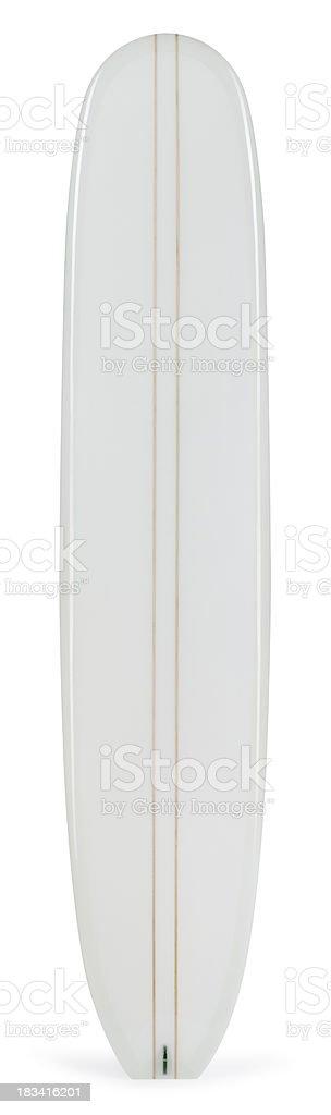 Longboard Isolated on White stock photo