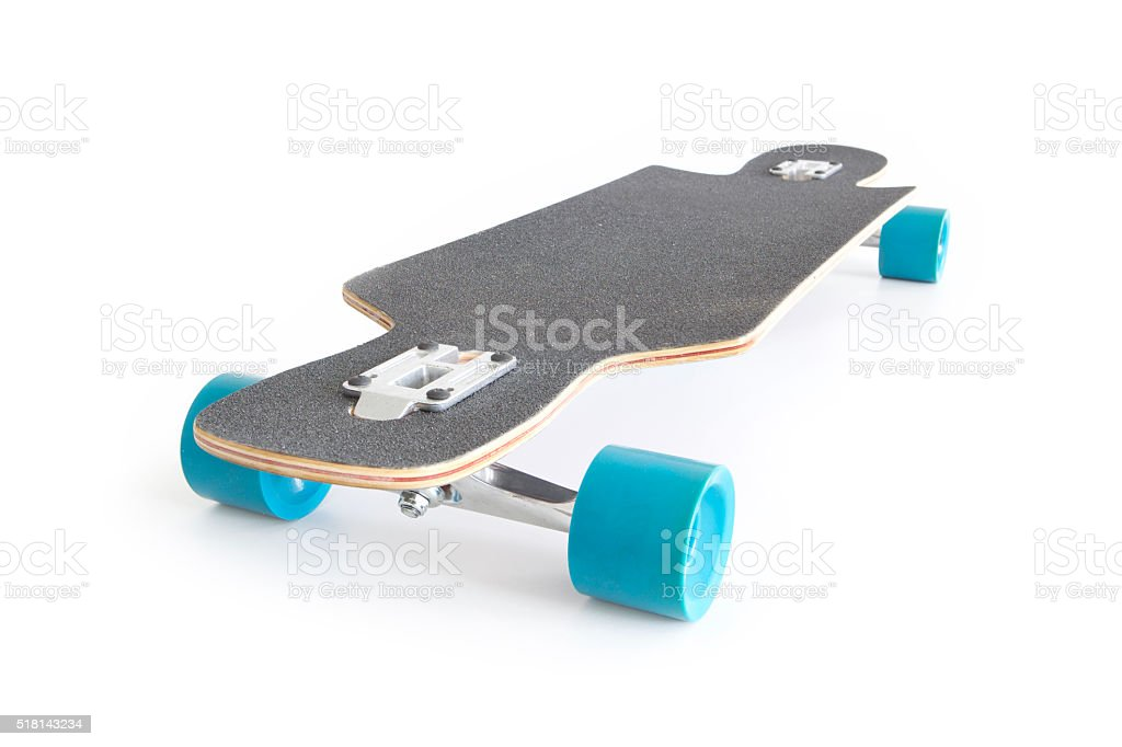 Longboard. stock photo