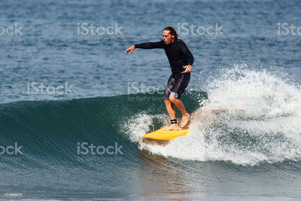 longboarder royalty-free stock photo