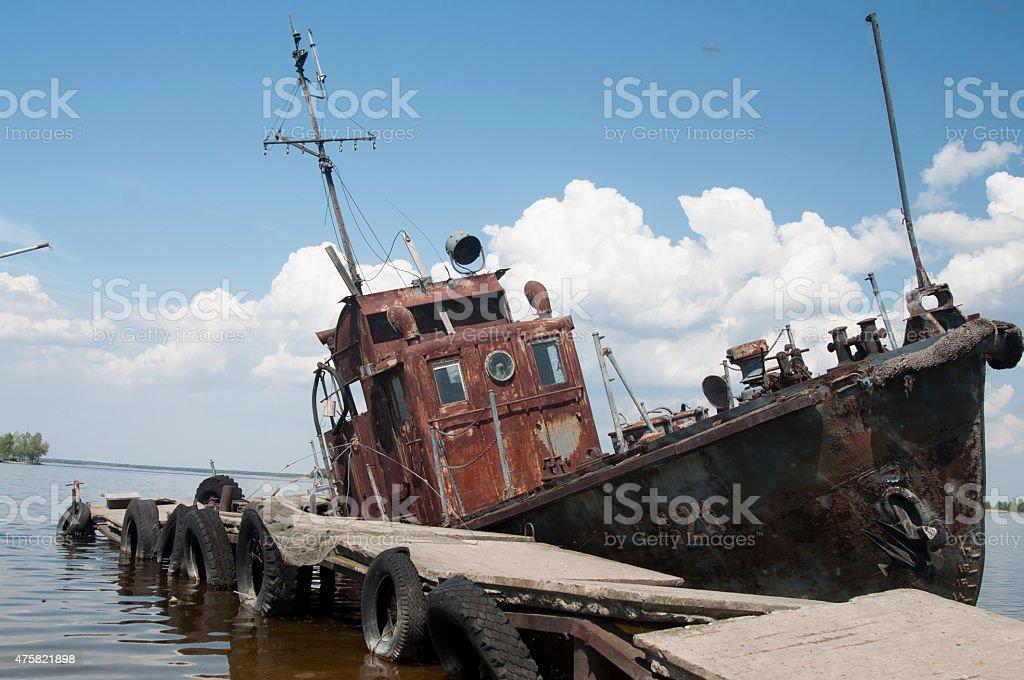 longboat stock photo