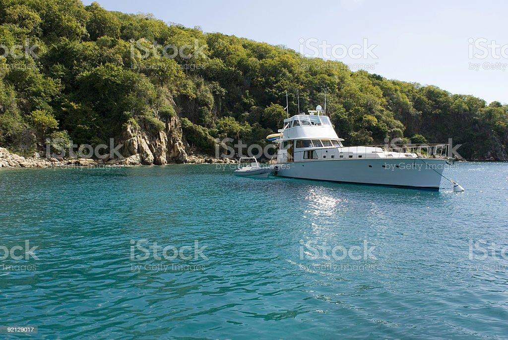 Longboat royalty-free stock photo
