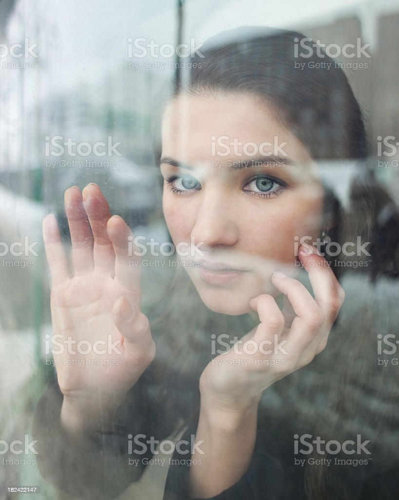 Longing Look royalty-free stock photo