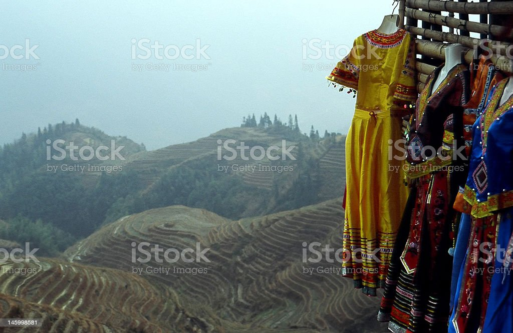 Longji Colthes. royalty-free stock photo