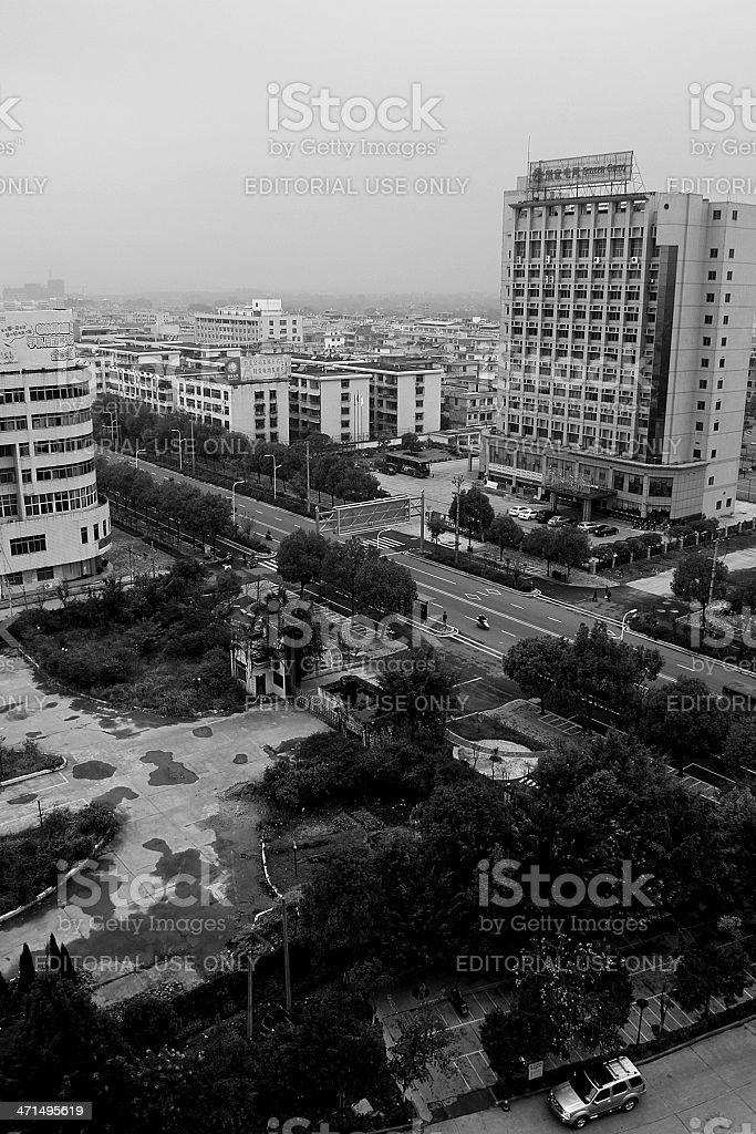 LongNan Town, Ganzhou Jiangxi Province China royalty-free stock photo