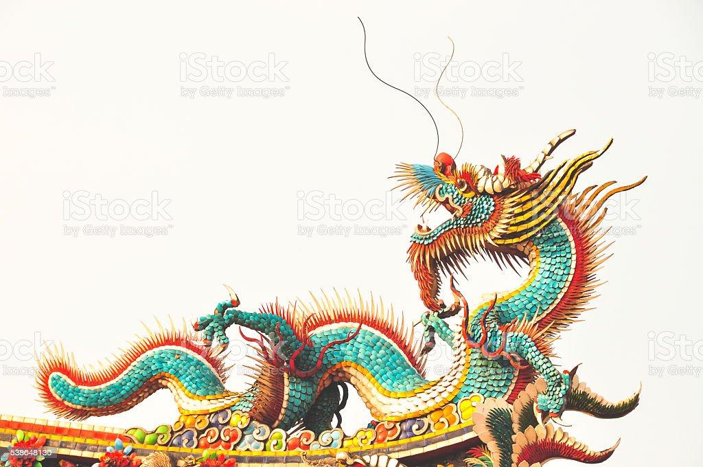 Longshan Dragon stock photo