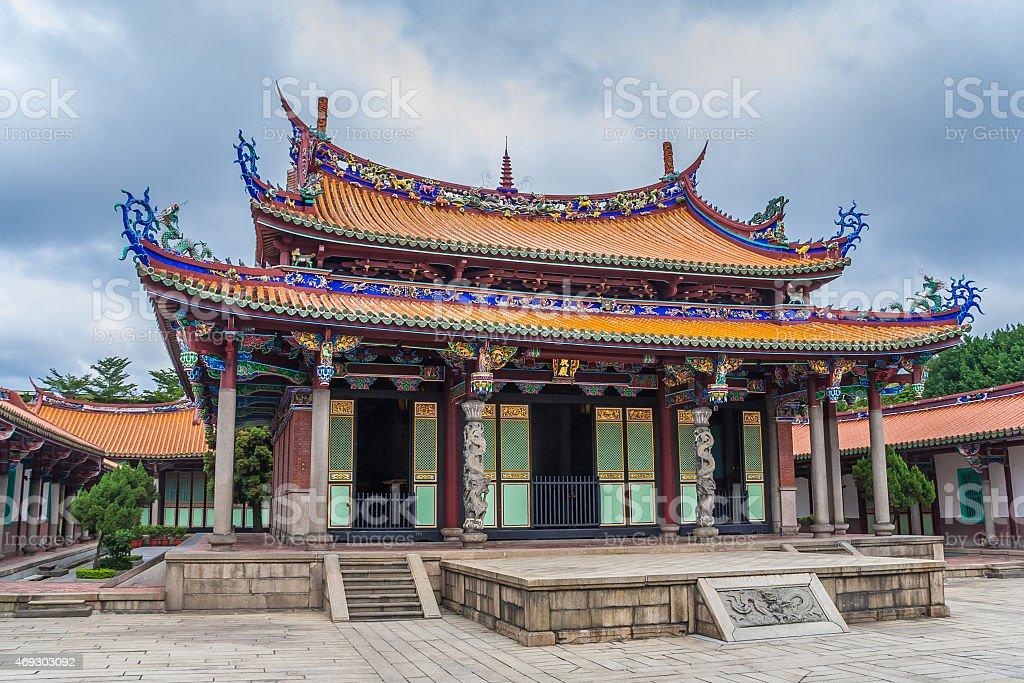 Longshan Temple in Taipei stock photo