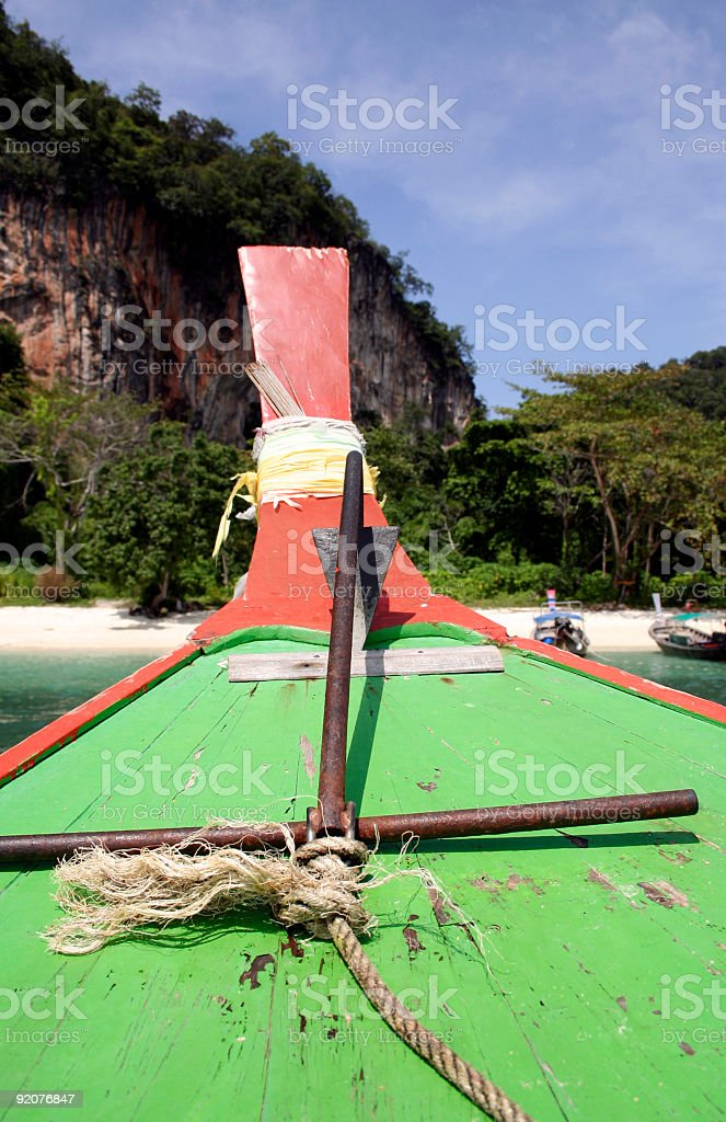 longtail anchor royalty-free stock photo