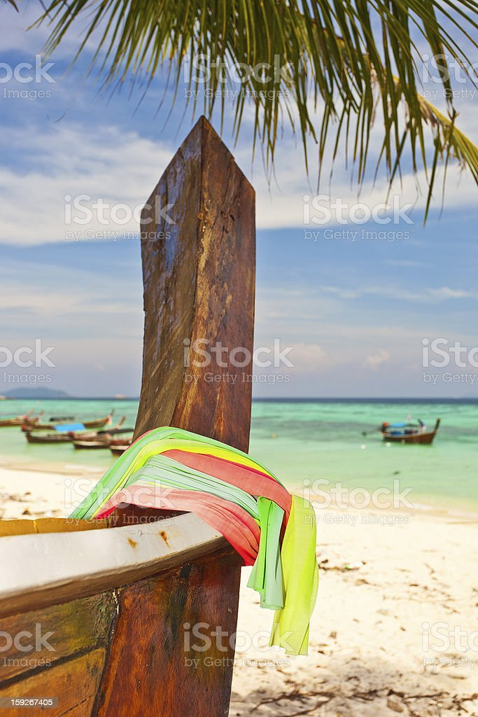 Longtail Boat royalty-free stock photo