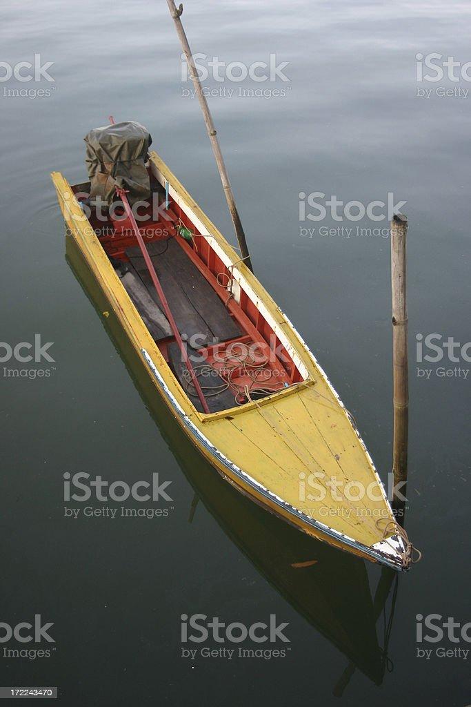 Longtail Boat stock photo